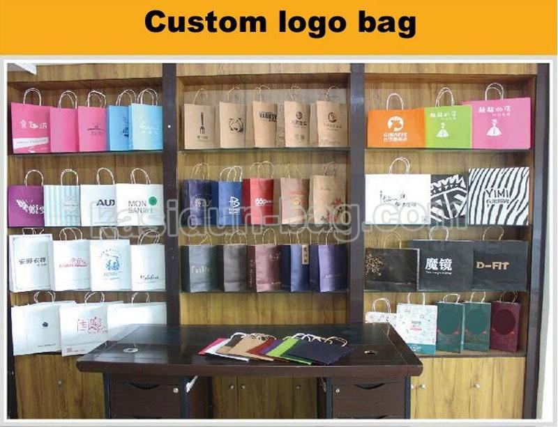 paper bag logo custom
