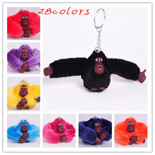 Top Selling Children's Kids Toys Cute Mini Monkey Plush Toys Bags Purse Pendant Keychain Colorful Monkey Toy Key Chain(China (Mainland))