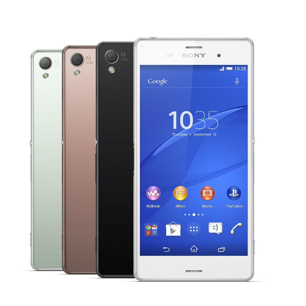 "Unlocked Original Sony Xperia Z3 D6616 Tmobile 5.2"" 20.7MP 1SIM Card 3GB RAM 32GB ROM(China (Mainland))"