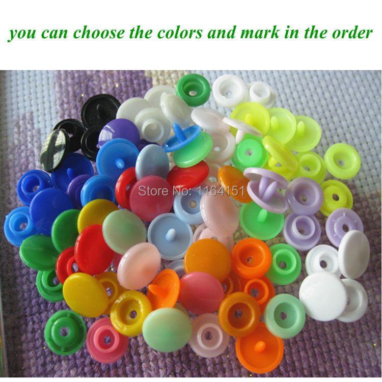 (can choose the colors) 200 sets/lot KAM 12mm plastic snap button Fasteners quilt cover sheet button garment accessories(China (Mainland))