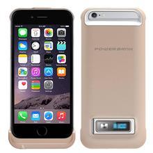 Sacos & Casos de Telefone Banco do Poder de Exibição Emissor de LUZ para o Iphone Recarregável de Telefone 3200 MAH Backup Externo Bateria Caso Carregador Diodo 6 S Celular Móvel