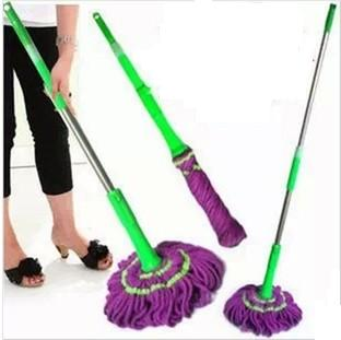 Special rotating car wash mop, mop will latch stretching from quick-drying mop twist,Magic Mop(China (Mainland))