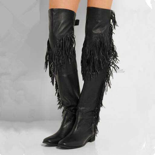 High Quality Flat Thigh High Boots for Women-Buy Cheap Flat Thigh ...