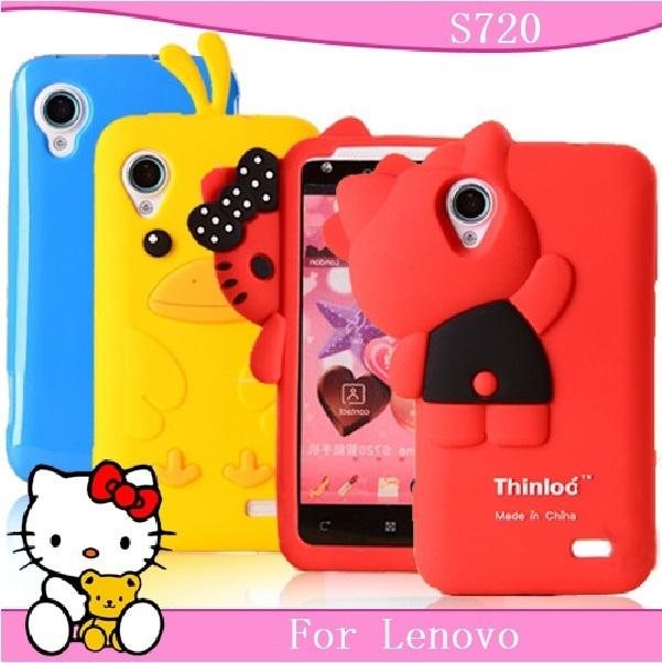 For Lenovo s720 mobile phone case cell for  lenovo s720 phone case protective case silica gel set