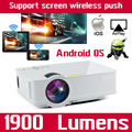 Smartphone Mini phone Android Smart Video gm60 Portable HD 1080P Home LCD Theater WIFI LED Projector