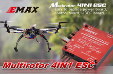 Brushless ESC for Quadcopter KK EMAX 25A Quattro 25A X4 UBEC Multi-rotor 4 in 1 speed controller