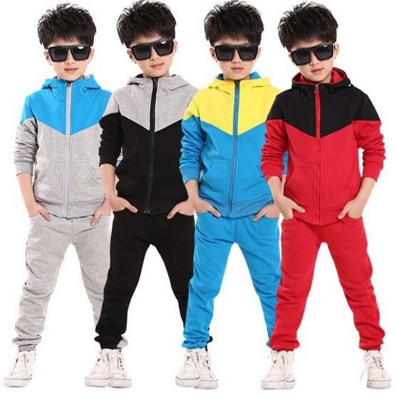 2015 Spring Boys Clothing Sets Jacket + Pants 2PCS Set Kids Sport Suits Tracksuits Retail 1Set ZZ2946<br><br>Aliexpress
