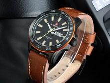 Marina clásica Man Army tiburon papeles _ relojes marca Naviforce militar Vogue 30 m resistente al agua reloj Saat originales Hodinky hombre ga