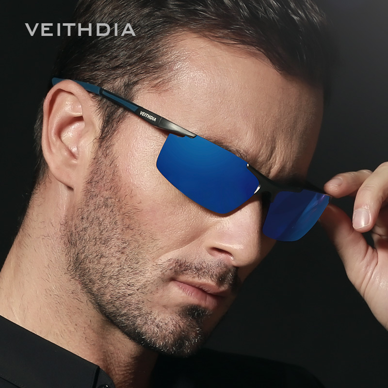 Aluminum Magnesium Sunglasses Polarized Sports Men Coating Mirror Driving Sun Glasses oculos Male Eyewear Accessories 6588