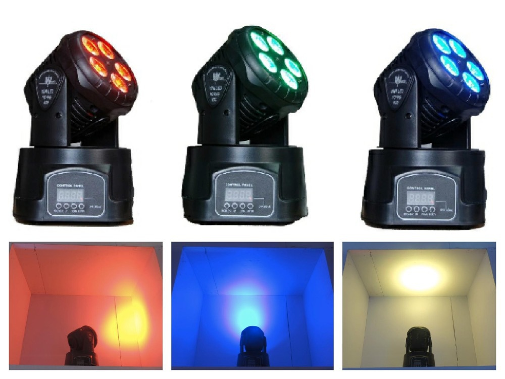 6pcs/lot, LED Moving Head Wash 5x15W RGBWA 5in1 Washing Light DJ Disco Bar Party DMX stage lighting equipment projector(China (Mainland))