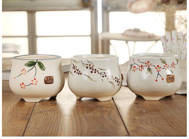 Mini Flower pot Creative zaakka 15011901-in Flower Pots & Planters ...