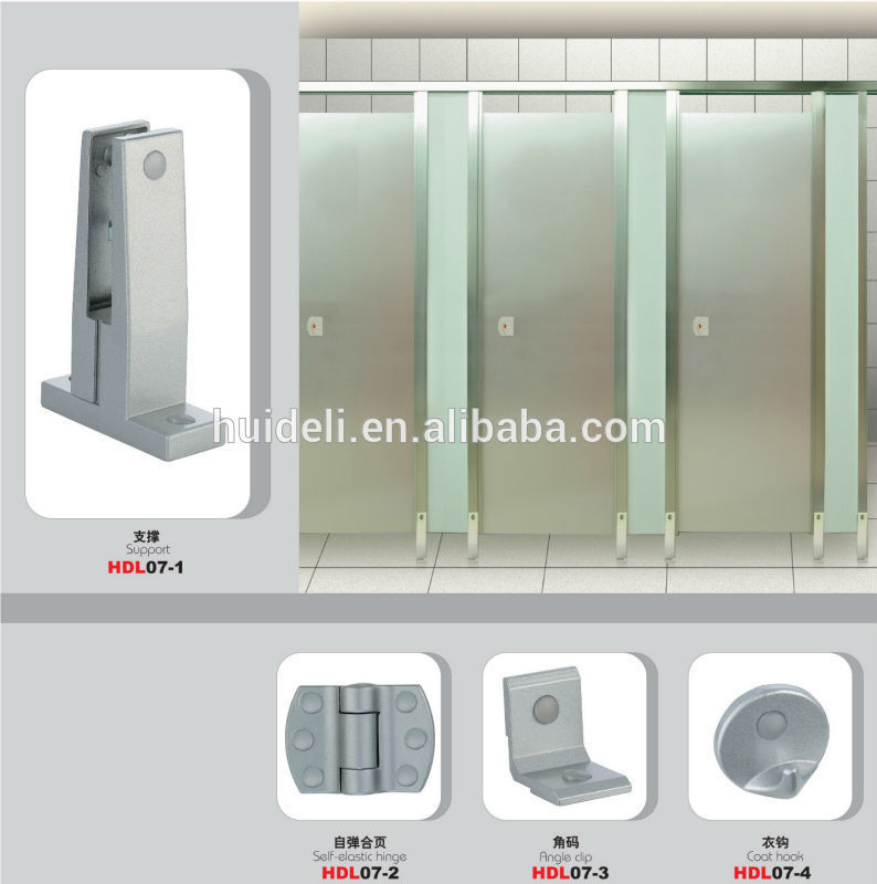 Hot sale 304 202 stainless steel toilet bathroom wc cabin for Toilet accessories sale