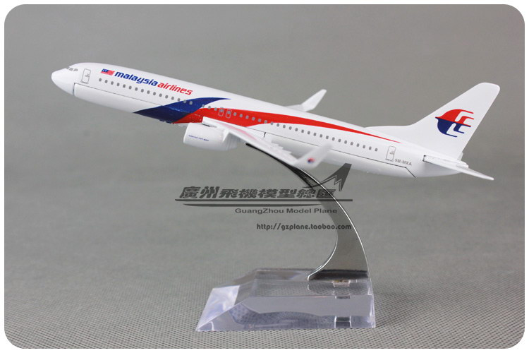 16cm 1:250 Malaysia Airlines Plane Model Boeing B737 800 Alloy Airplane Model Kids Toy Gift Collections Free Shipping(China (Mainland))