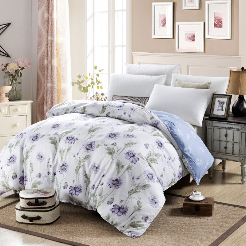 New Design Polyester Cotton Bedding Set 1pc Duvet Cover Set Full Queen Siz