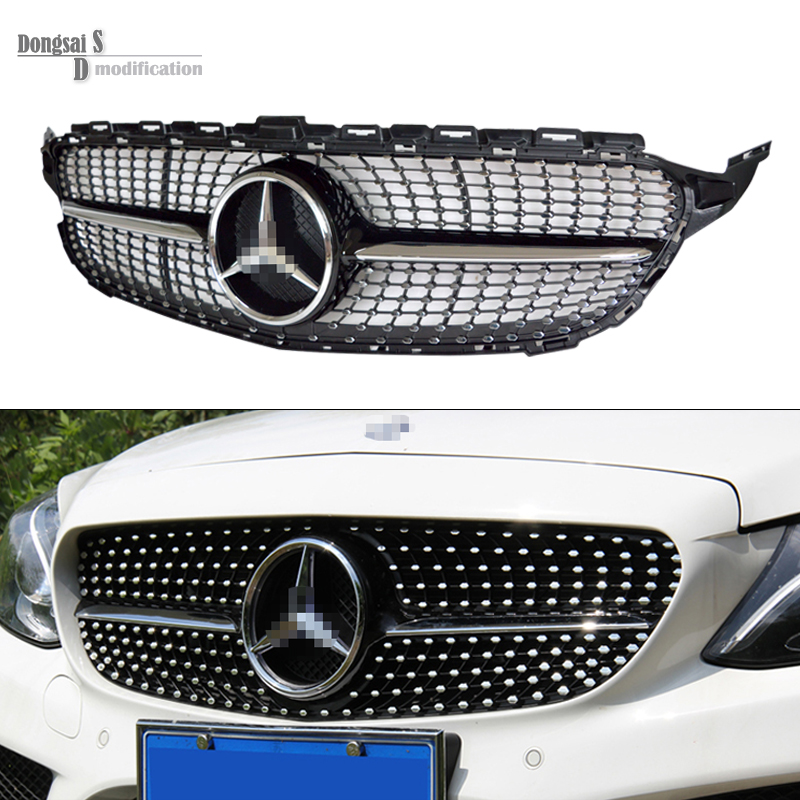 Popular c63 amg grill buy cheap c63 amg grill lots from for Mercedes benz grills