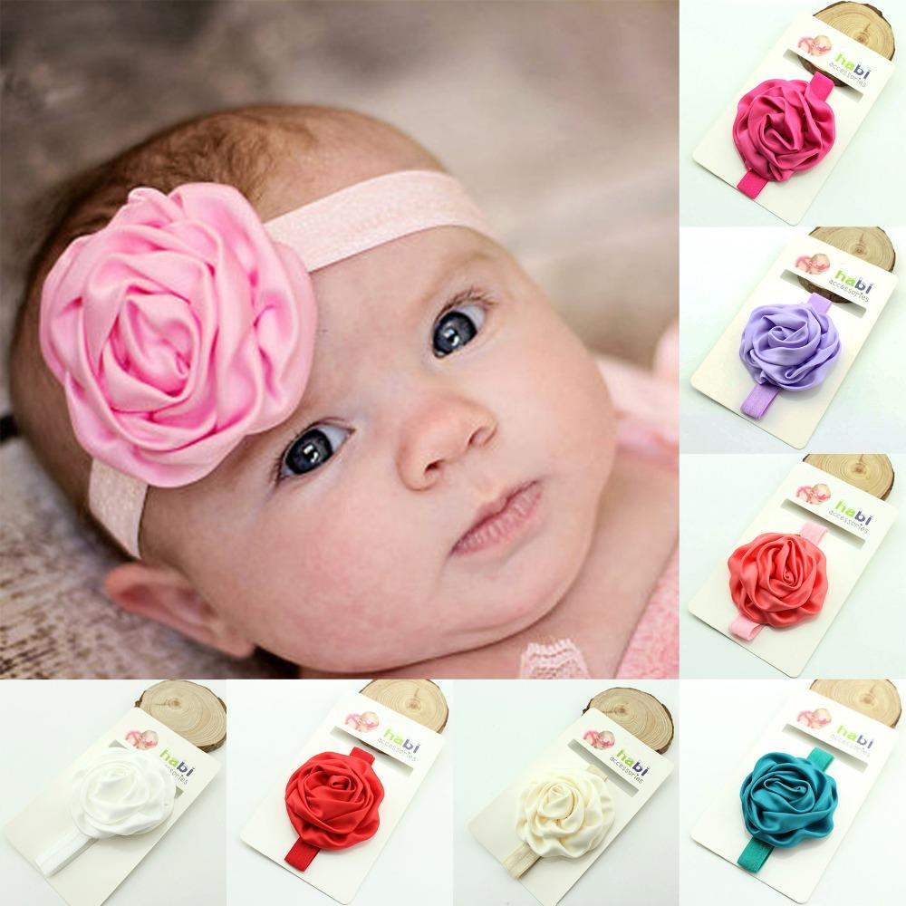 Toddler Baby Headband Flower Shaped Baby Girl Hair Accessories Headbands(China (Mainland))