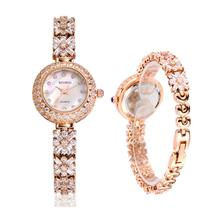 Alta calidad 2015 de moda Natural Zircon mujeres relojes con Rhinestone de lujo del oro reloj mujer Montre Femme del Relogio Feminino