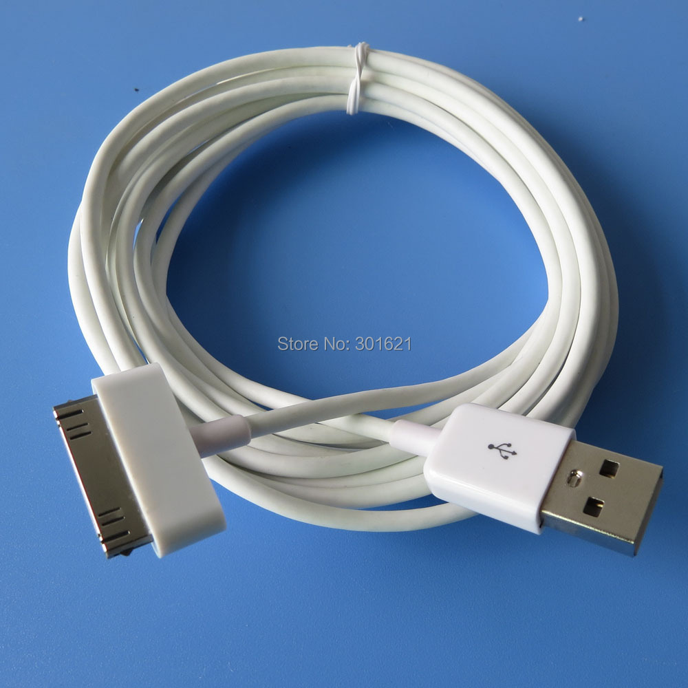2m 6ft long USB Charging Data Sync Cable for iPhone 4(China (Mainland))