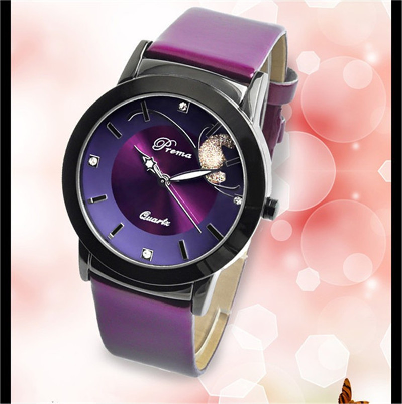 Women watch leather band