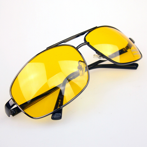 Brand New HQ Night Driving Glasses Anti Glare Vision Driver Safety Sunglasses UV 400 Protective Goggles