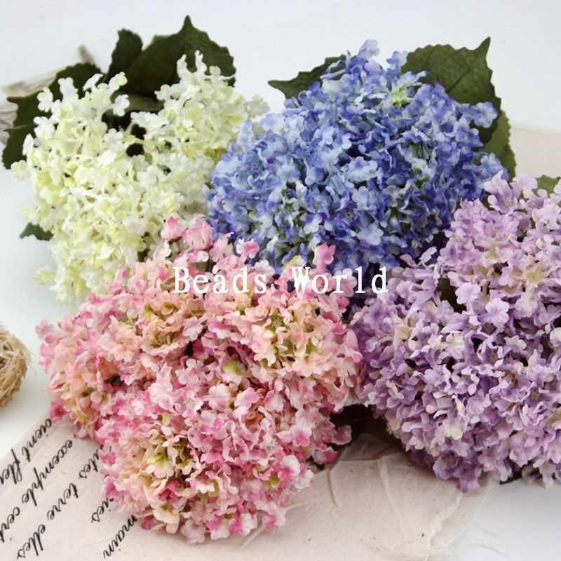 Bouquet Artificial Flower Wedding Home Decoration Bridal Bouquets 47cm