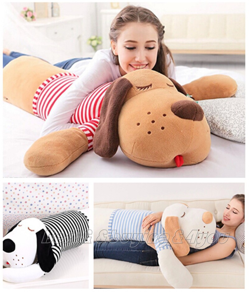 "83CM 32"" Huge Gog Plush Stuffed Toy Birthday Valentine's Gift Soft Bed Pillow Free shipping (70709005)(China (Mainland))"