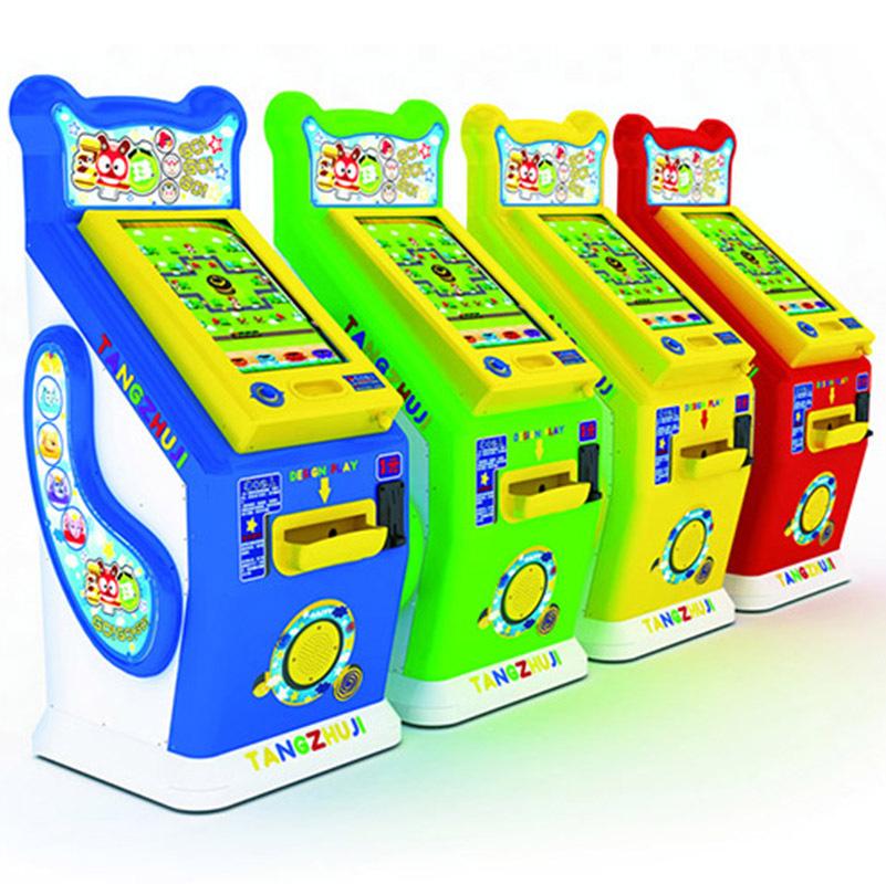 The new pinball machine game machine pat music marbles gogogo slot machine glass ball(China (Mainland))