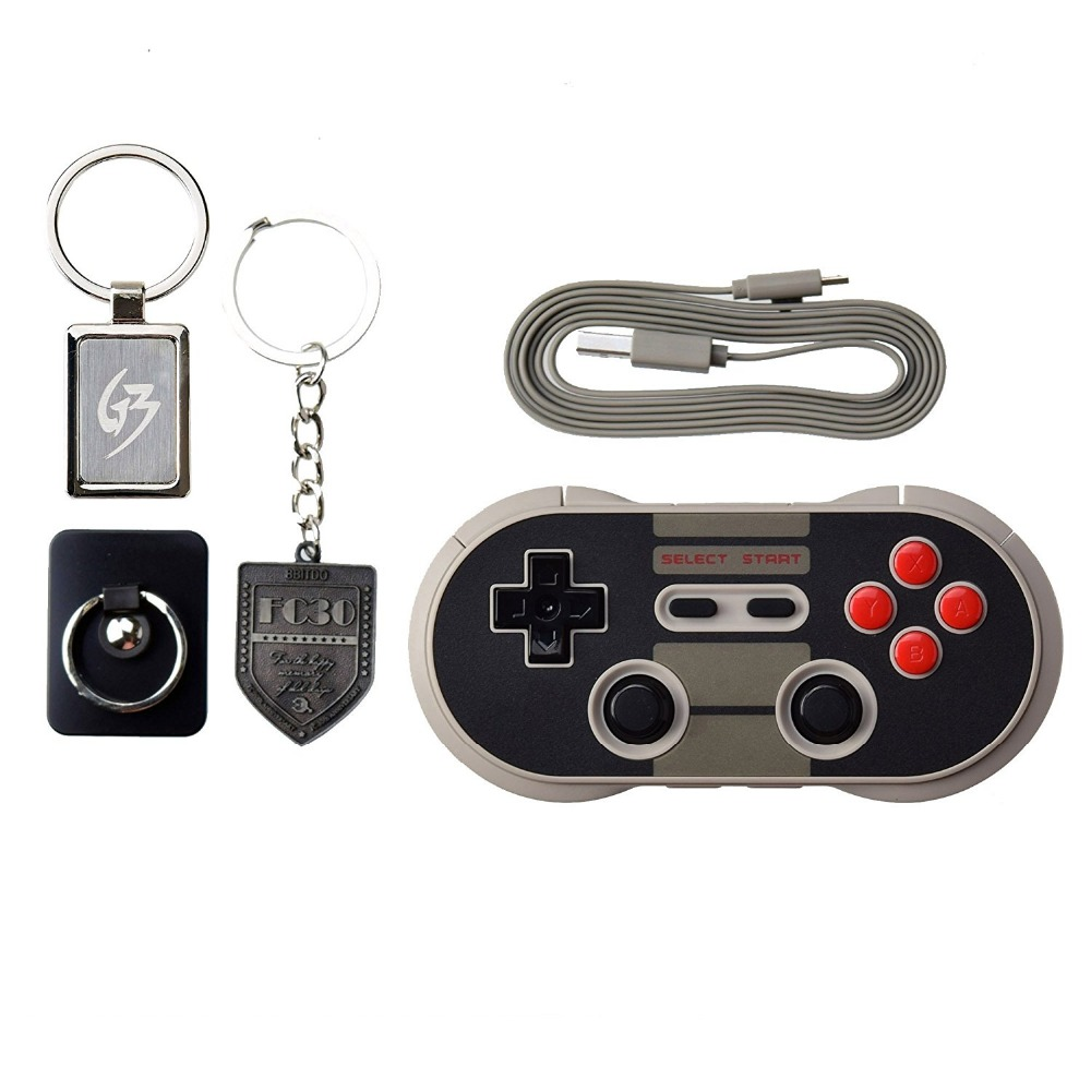 8Bitdo NES30 Pro Wireless Bluetooth Controller Dual Classic Joystick for iOS Android Gamepad PC Mac Linux for iphone games(China (Mainland))