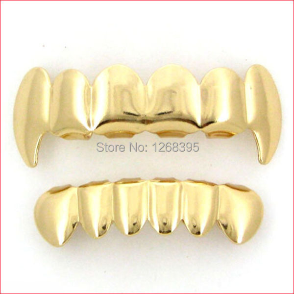 Top Grillz Fangs Fang Teeth Grillz Top And