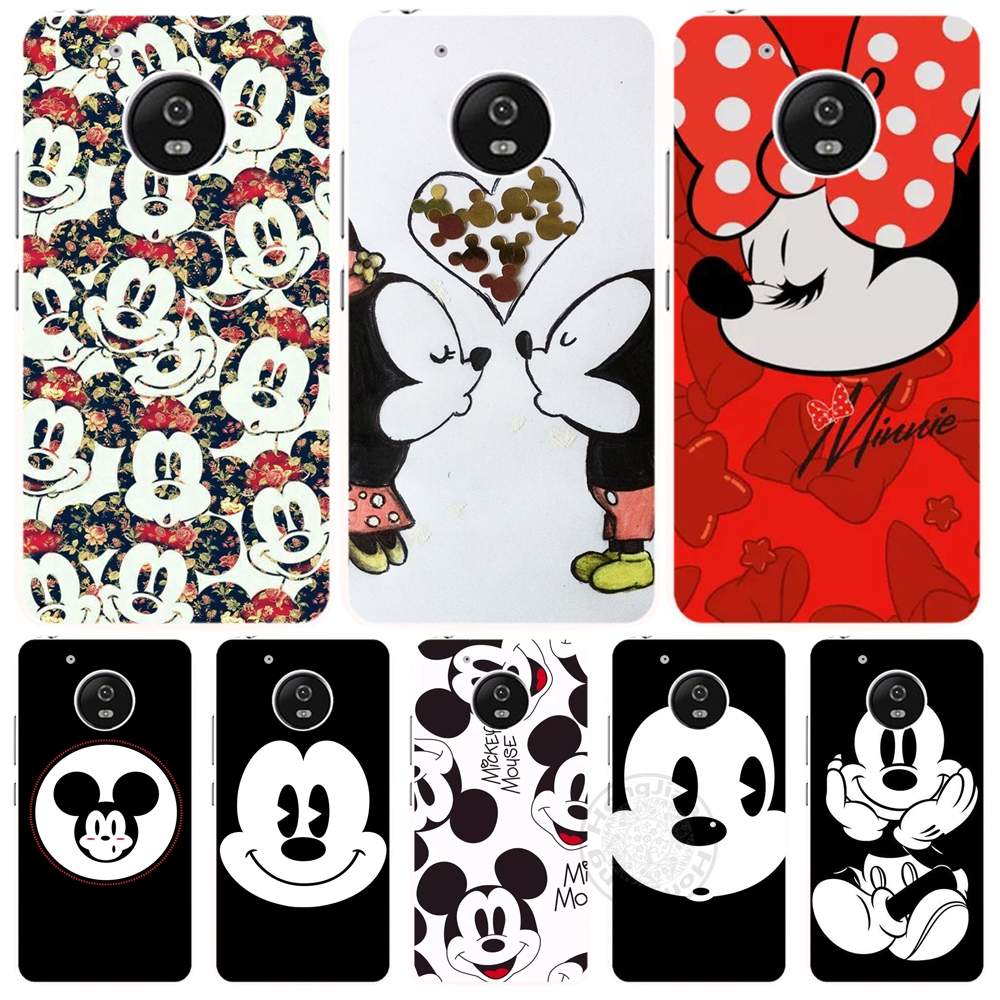 Mickey Minnie Funny Face case cover for For Motorola MotoG5 G4 PLAY PLUS ZUK Z2 BQ M5.0(China (Mainland))