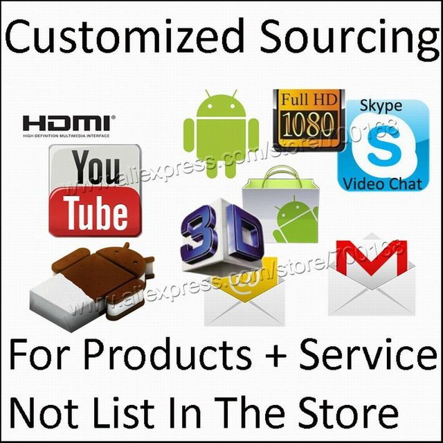Customized Sourcing Check out link for the products not list in our store and you want to buy