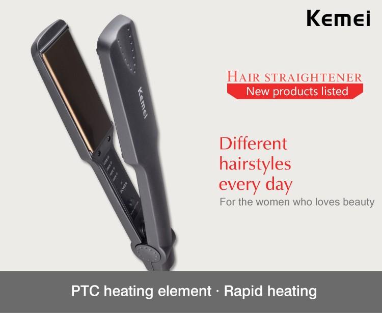 Kemei329 Новый Flat Iron Выпрямление Утюги Для Укладки Инструменты Профессиональный Выпрямитель Для Волос Бесплатная Доставка