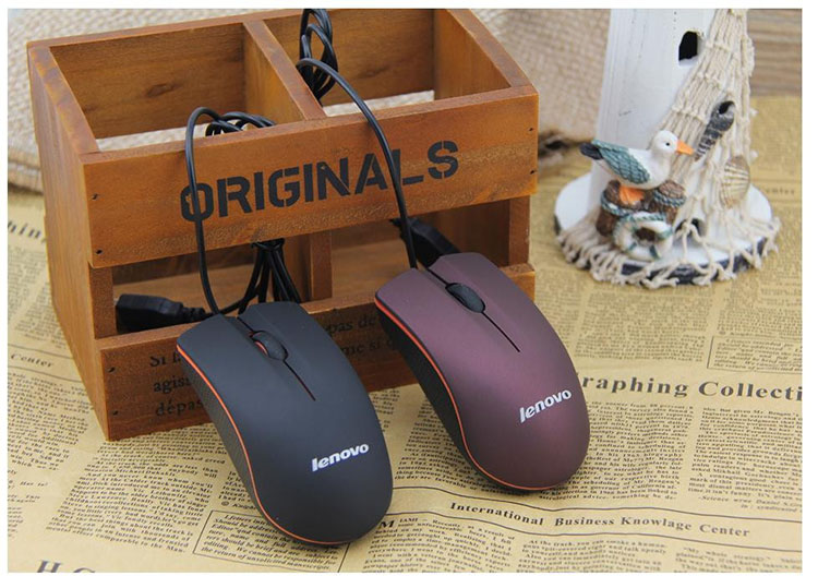 High Quality Lenovo M20 Wired Mouse USB 2.0 Pro Gaming Mouse Optical Mice For Computer PC(China (Mainland))