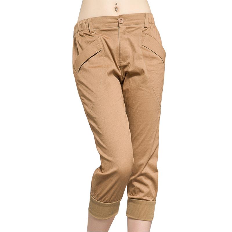 Beautiful  Womens Dockers Size 6 M Medium METRO TROUSER Khaki Tan Pants MSRP 50