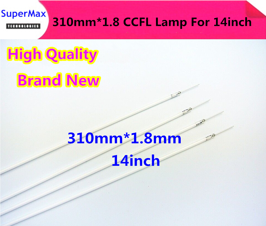 Wholesale&Free shipping via DHL 200PCS 310x1.8mm 14inch LCD screen backlight ccfl lamp,ccfl tube light for laptop screen panel(China (Mainland))