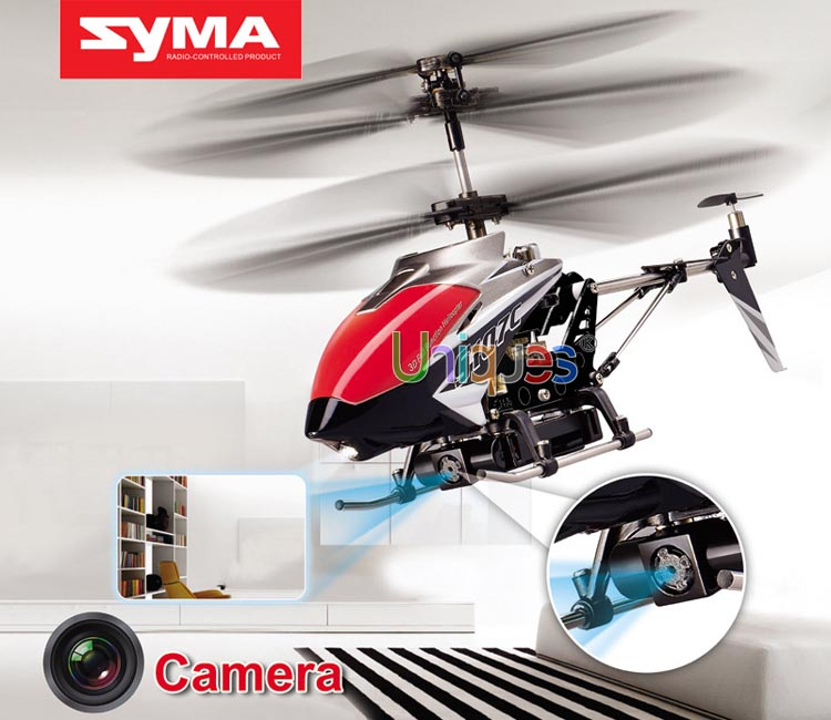 Genuine Syma S107C RC Remote Control Toy Helicopter S107 Camera 3.5 Channel Gyro Radio Control Aerial Photo Shot(China (Mainland))