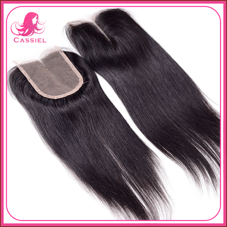 Brazilian Virgin Hair Closure Body Wave 4*4 10