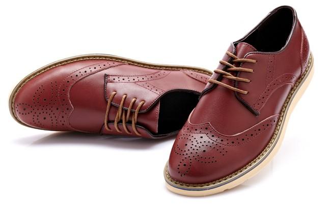 Британский стиль мужчины обувь кожа Оксфорд обувь для мужчин ретро башмаках платье обувь натуральная кожа плюс размер 10 11 12 xmd055-5