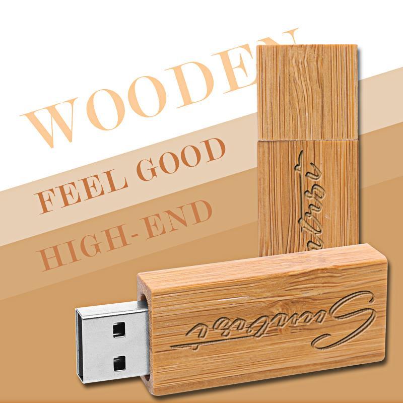 Suntrsi Customized USB Flash Drive Novelty Pen Drive Wooden Pendrive Creative Gift USB Stick Wood USB Flash Free Shipping(China (Mainland))