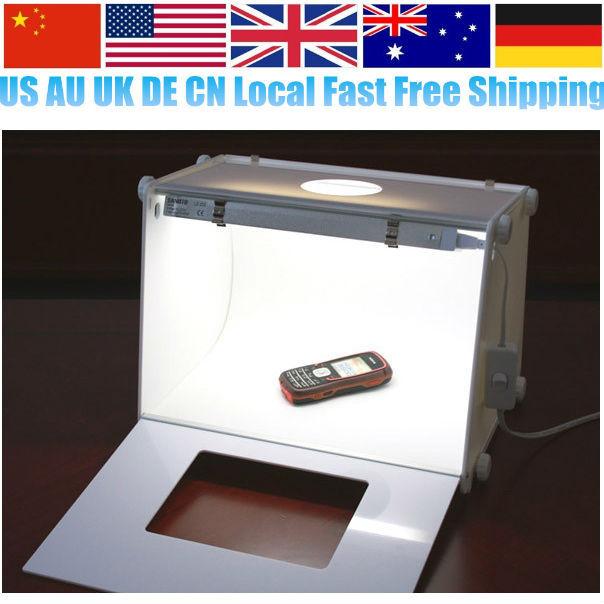 "Oversea Fast Free Shipping Professional Portable SANOTO 12""x8"" Mini Photo Photography Studio Kit Light Box Softbox MK30(China (Mainland))"