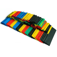 328PCS Colorful Assorted Heat Shrink Tube 5 Colors 8 Sizes Tubing Wrap Sleeve Set Combo E2shopping