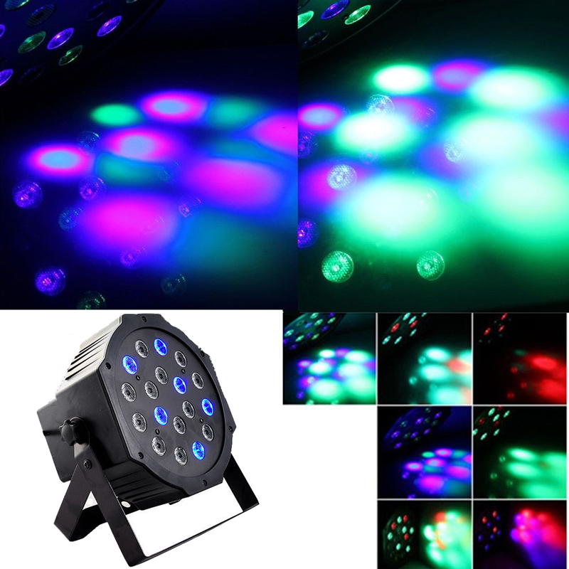 110 - 220V 18W Party LED RGB DMX DJ Equipment Star Showers Stage Light For Disco Nightclub(China (Mainland))