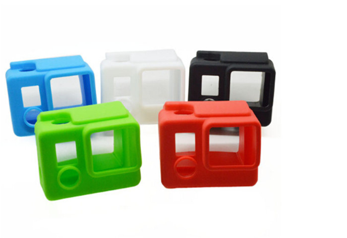 Camera Silicone Protective Dirtproof Case Cover Skin Accessories for Gopro Hero 3+(China (Mainland))