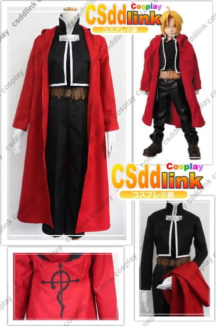 Fullmetal Alchemist Edward Elric Cosplay CostumeОдежда и ак�е��уары<br><br><br>Aliexpress
