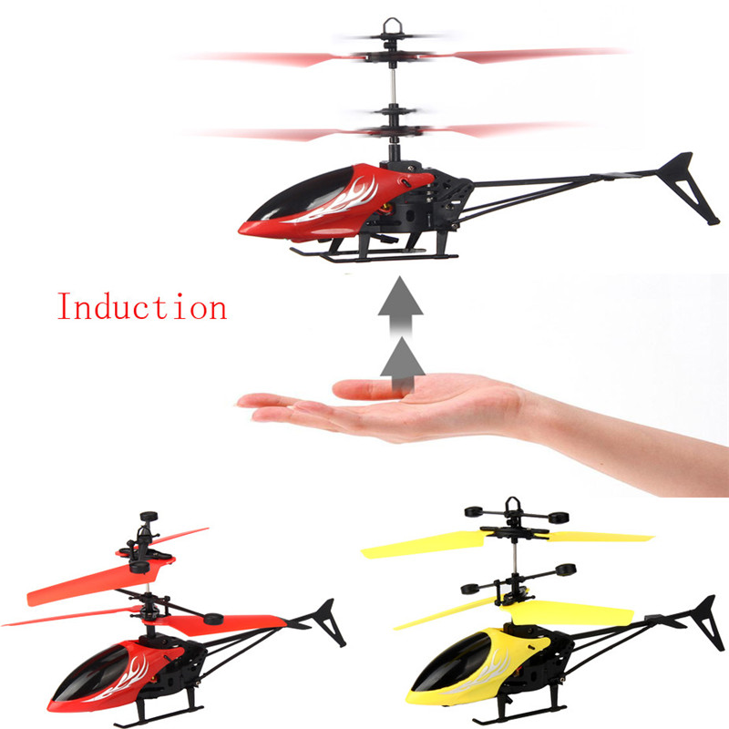 Flying Mini RC Infraed Induction Helicopter Aircraft Flashing Light Toys For Kids Dropshipping Free Shipping M27(China (Mainland))