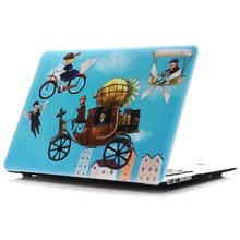 Colorful Painted Matte Hard Case For Apple Mac MacBook Air 11 13 / Pro 13 15 / Retina 12 Shell Laptop Bag With Free Gift