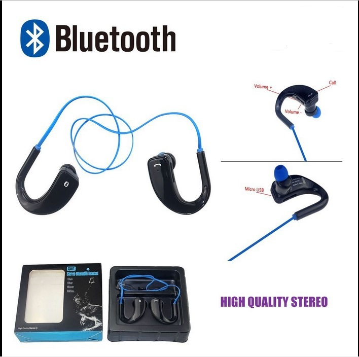 Bluetooth 4.0 Wireless Headphone Handsfree Stereo Earphone Fashion Sport Running Headset With Microphone For iphone Saumsung HTC(China (Mainland))