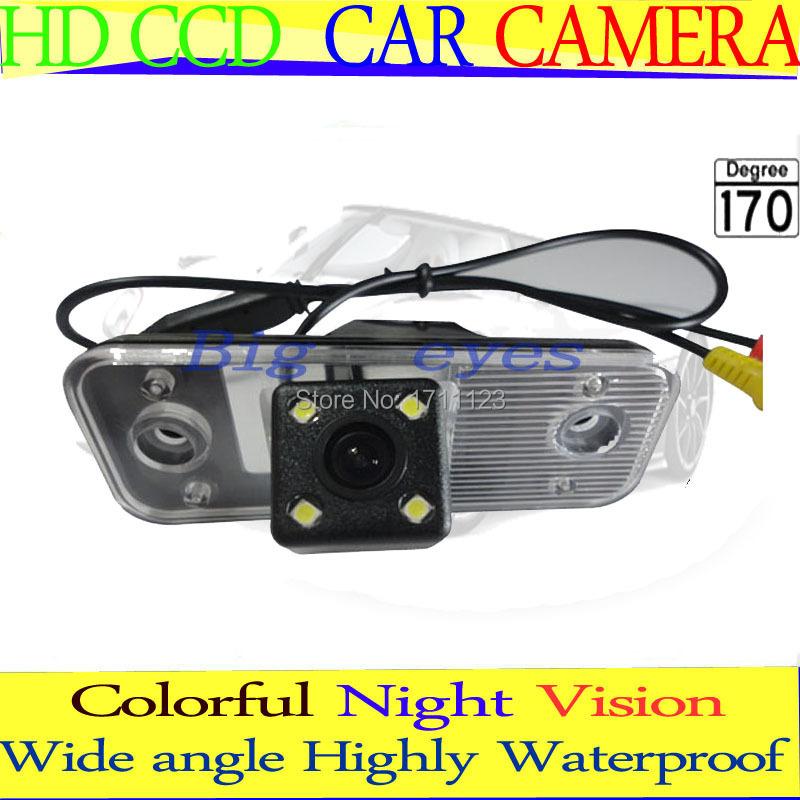 HD CCD Car Rear View Camera back up Camera Reverse Parking Camera forHyundai new Santafe Hyundai Santa Fe Hyundai Azera(China (Mainland))