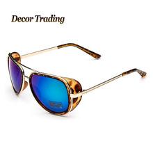 VINTAGE Steampunk Round Sunglasses