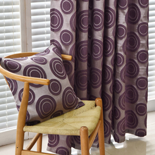 Endless jacquard curtain modern design green curtains and tulle balcony panel curtain fabrics home decoration window treatments(China (Mainland))